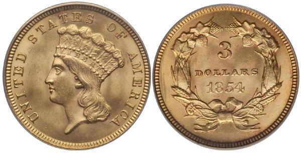 Three Dollar Gold Piece